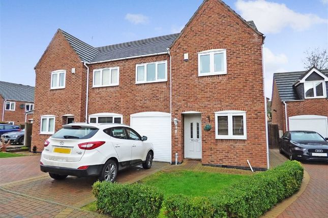 3 bed semi-detached house for sale in Walnut Close, Hough, Crewe