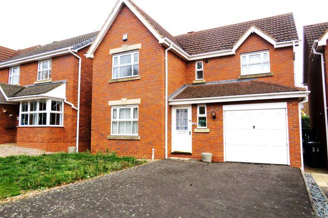 Thumbnail Detached house for sale in Oathill Rise, Burton Latimer, Kettering