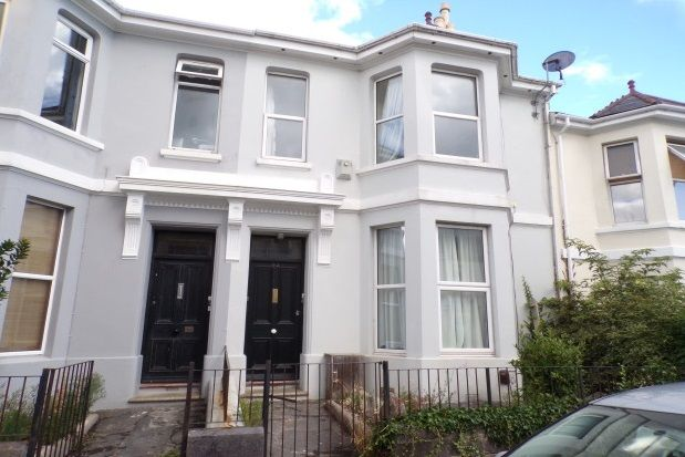 Thumbnail Flat to rent in Baring Street, Plymouth