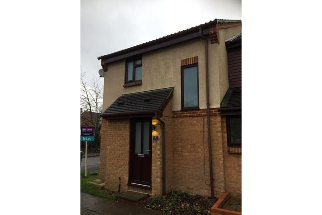 Thumbnail End terrace house to rent in Great Oaks Chase, Basingstoke
