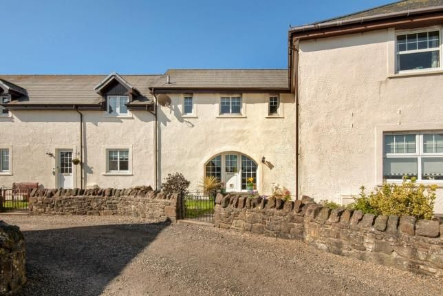 Thumbnail Terraced house for sale in Chapelton Mains, Seamill, North Ayrshire, Scotland