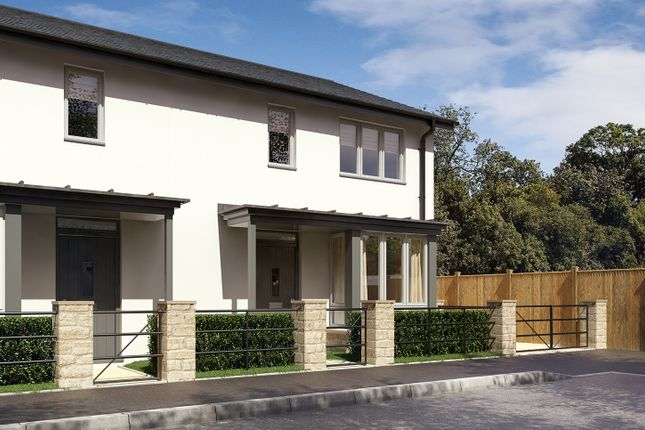 "Thumbnail Semi-detached house for sale in ""The Amberina"" at Beckford Drive, Lansdown, Bath"