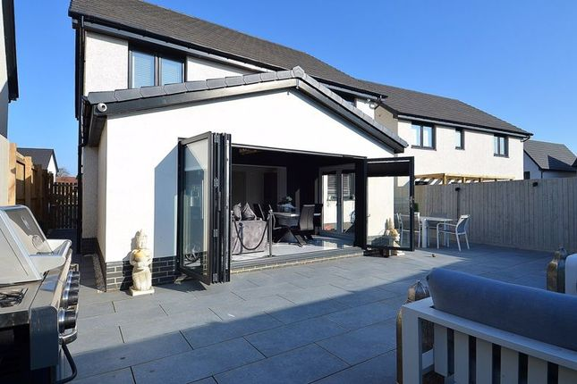 Thumbnail 4 bed detached house for sale in Bluebell Wynd, Backworth, Newcastle Upon Tyne