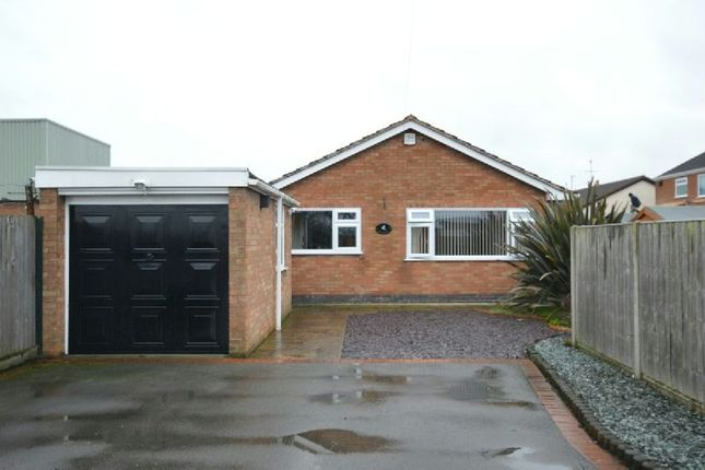 Thumbnail Detached bungalow for sale in Dog & Gun Lane, Whetstone, Leicester