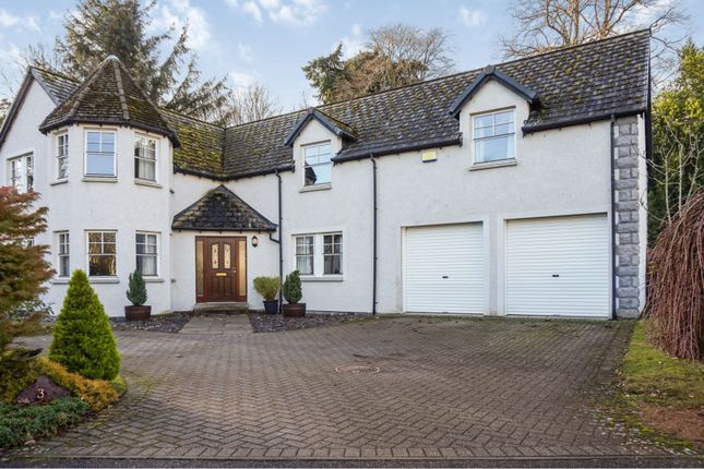 Thumbnail Detached house for sale in Rhuallan Grove, Nairn