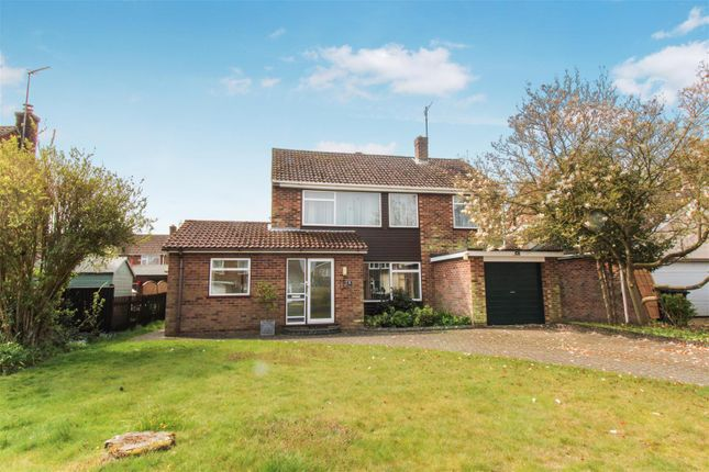 Thumbnail Detached house for sale in Holly Close, South Wootton, King's Lynn
