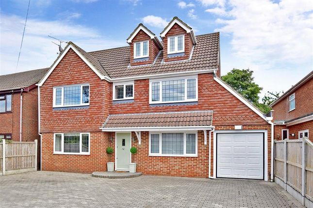 Thumbnail Detached house for sale in Wigmore Road, Gillingham, Kent