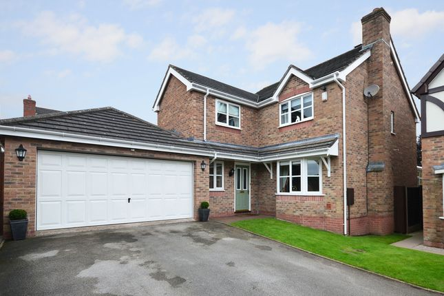 Thumbnail Detached house for sale in Merino Close, Lightwood, Stoke-On-Trent