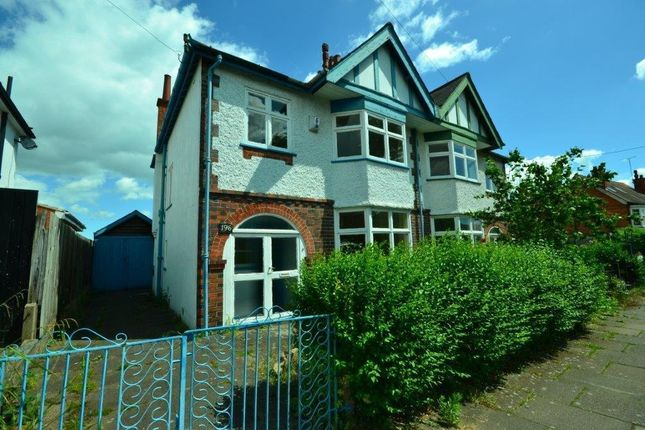 3 bed semi-detached house for sale in Kimberley Road, Evington, Leicester