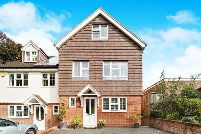 Thumbnail Semi-detached house for sale in Windrushes, Caterham, Surrey