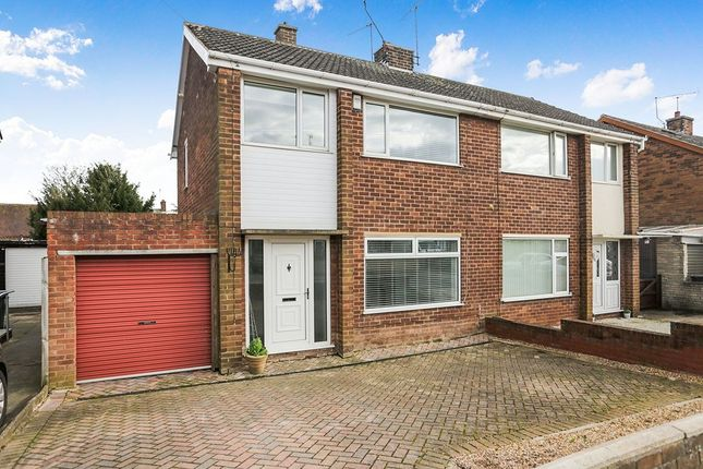 Thumbnail Semi-detached house to rent in Northfield Drive, Woodsetts, Worksop