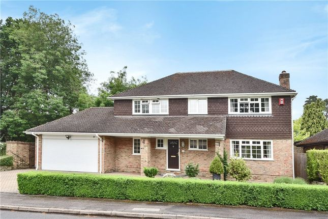 Thumbnail Detached house for sale in Waldorf Heights, Blackwater, Camberley