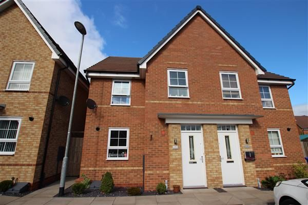 Thumbnail Semi-detached house for sale in Havilland Place, Meir, Stoke-On-Trent
