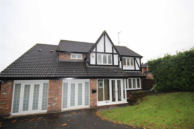 Thumbnail Detached house to rent in Falconwood Chase, Worsley, Manchester