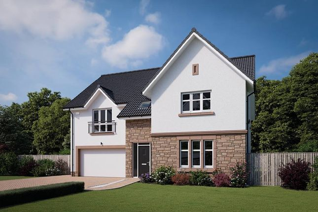 "Thumbnail Detached house for sale in ""The Moncrief"" at Davidston Place, Lenzie, Kirkintilloch, Glasgow"