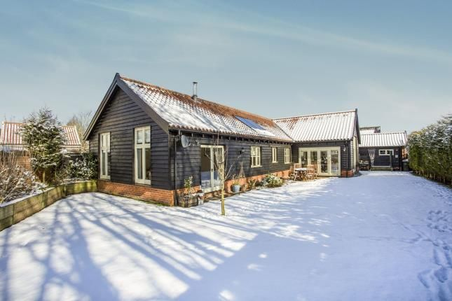 Thumbnail Bungalow for sale in North Lopham, Diss, Norfolk