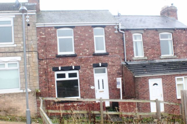 Thumbnail Terraced house to rent in Clarence Gardens, Crook, County Durham.