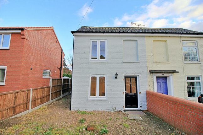 2 bed semi-detached house for sale in Bacton Road, North Walsham NR28