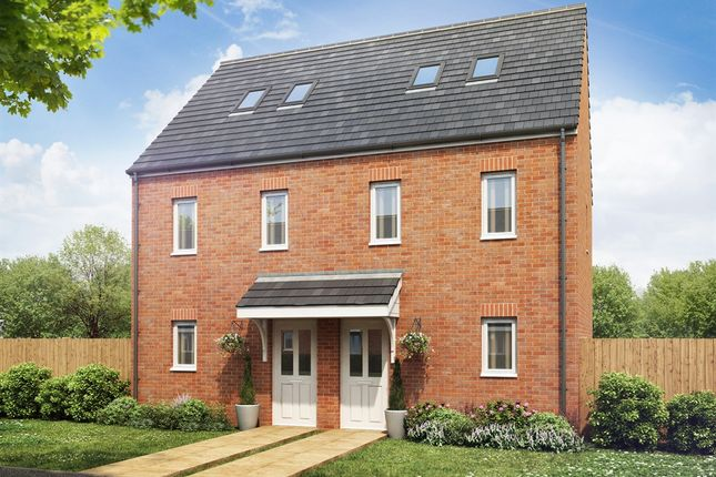"Thumbnail Terraced house for sale in ""The Moseley"" at Bawler Road, Monkton Heathfield, Taunton"