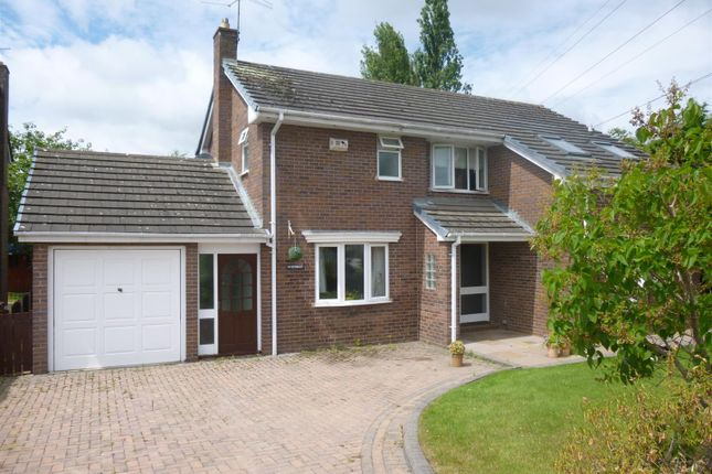 Thumbnail Detached house for sale in Level Road, Hawarden, Deeside