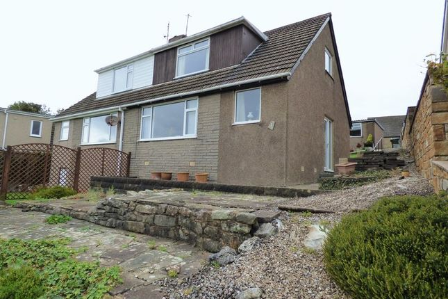 Thumbnail Semi-detached house for sale in Clougha Avenue, Halton, Lancaster