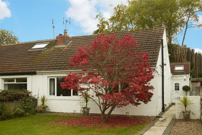 Thumbnail Semi-detached bungalow for sale in Sandy Walk, Bramhope, Leeds