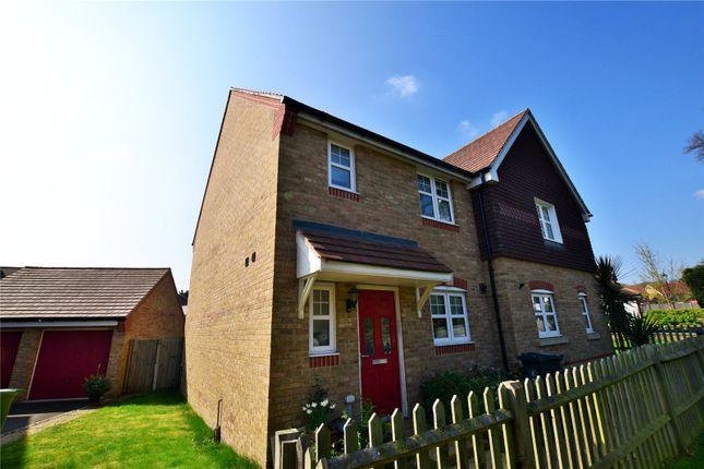 Thumbnail Semi-detached house to rent in Popejoy Drive, Bagshot, Surrey