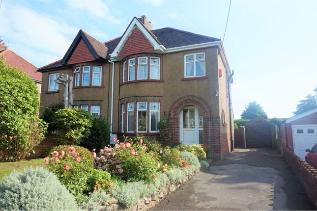 Thumbnail Semi-detached house for sale in Wenallt Road, Rhiwbina