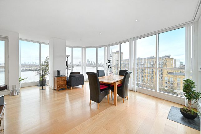 Thumbnail Flat for sale in Belgrave Court, 36 Westferry Circus, Canary Wharf, London