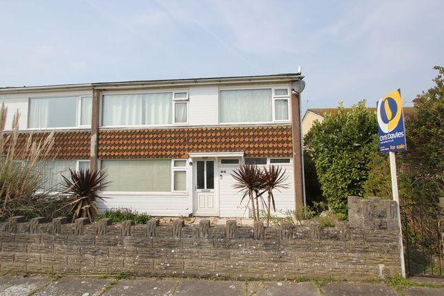 Thumbnail Semi-detached house for sale in Windsor Close, Boverton, Llantwit Major