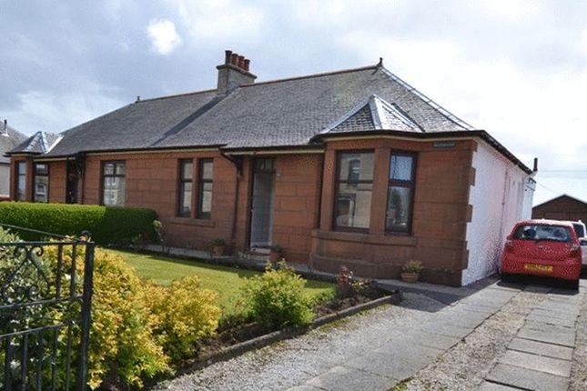 Thumbnail Semi-detached bungalow for sale in Stevenston Road, Kilwinning