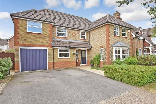 Thumbnail Detached house for sale in Anson Avenue, West Malling, Kent
