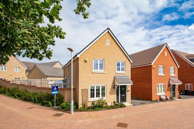 Thumbnail Detached house for sale in Moneta Rise, Leighton Buzzard, Bedfordshire
