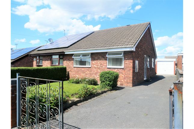 Thumbnail Semi-detached bungalow for sale in Hoveringham Drive, Stoke-On-Trent