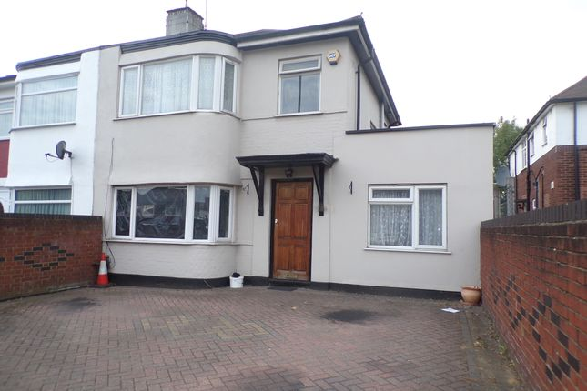 Thumbnail End terrace house to rent in Petts Hill, Northolt