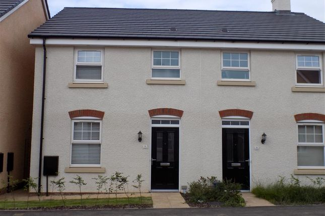 Thumbnail End terrace house to rent in Ternata Drive, Monmouth