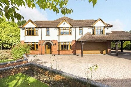 Thumbnail Detached house for sale in Coventry Road, Fillongley, Warwickshire