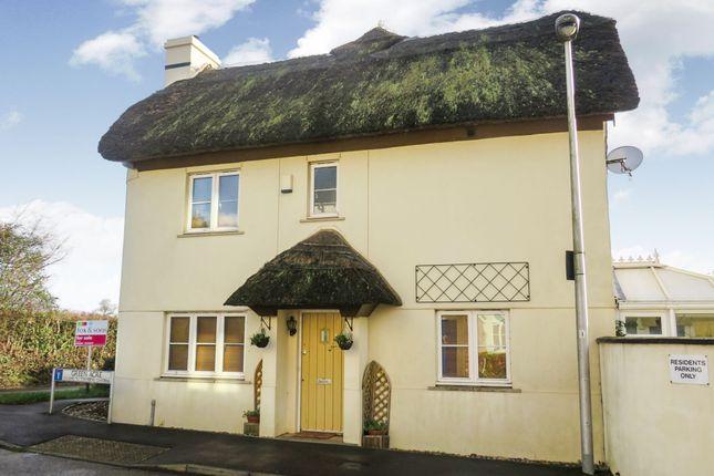 Thumbnail End terrace house for sale in Green Acre, Halberton, Tiverton