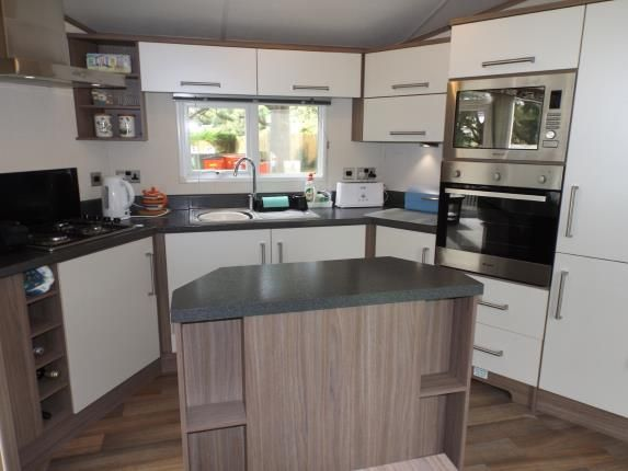 Kitchen of Newquay Holiday Park, Newquay, Cornwall TR8