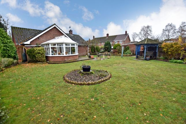 Thumbnail Detached bungalow for sale in Churchill Road, Thetford, Norfolk