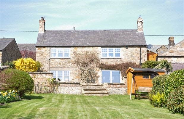 Thumbnail Detached house for sale in Newton, Stocksfield, Northumberland