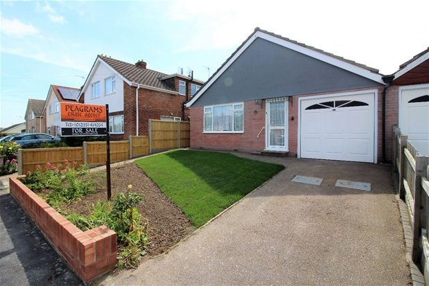 Thumbnail Detached bungalow for sale in Slade Road, Holland On Sea, Clacton On Sea