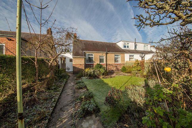 Thumbnail Semi-detached bungalow for sale in Brunton Avenue, Fawdon, Newcastle Upon Tyne