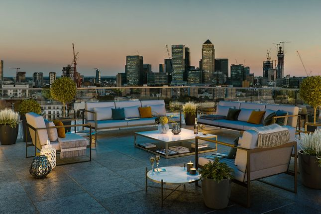 """Typical Terrace of """"Lime Quarter Tower Type 11"""" at Devons Road, London E3"""