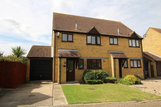 Thumbnail Semi-detached house for sale in Monkswood, Littleport, Ely