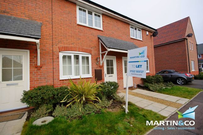 Thumbnail Terraced house to rent in Tacitus Way, North Hykeham, Lincoln