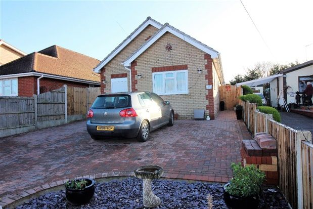Thumbnail Detached bungalow for sale in Oakmead Road, Point Clear, Clacton On Sea