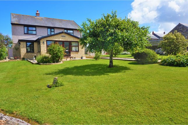 Thumbnail Detached house for sale in Kehelland, Camborne