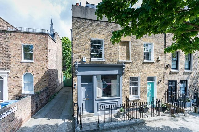 Thumbnail End terrace house for sale in Camberwell Grove, London