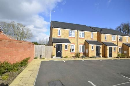Thumbnail Semi-detached house for sale in Centenary Way, Raunds, Northamptonshire